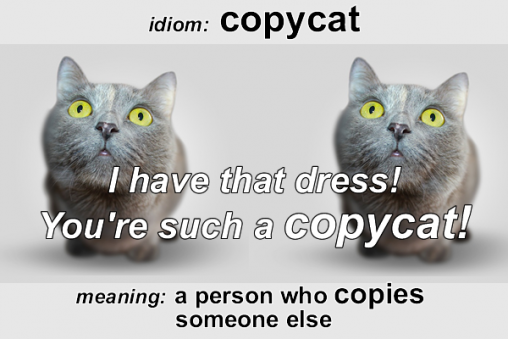 Idiom - Copycat