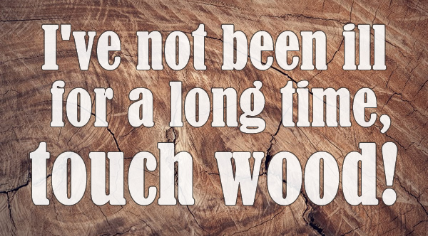 touch wood quote